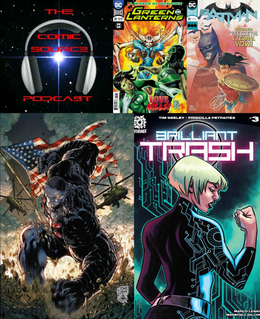 The Comic Source Podcast Episode 209 – New Comics Wednesday January 17, 2018