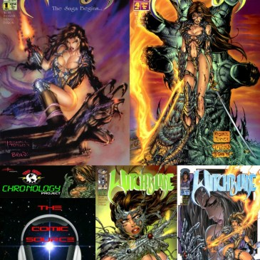The Comic Source Podcast Episode 227 – Top Cow Thursday – Chronology 50 – Witchblade #1-4