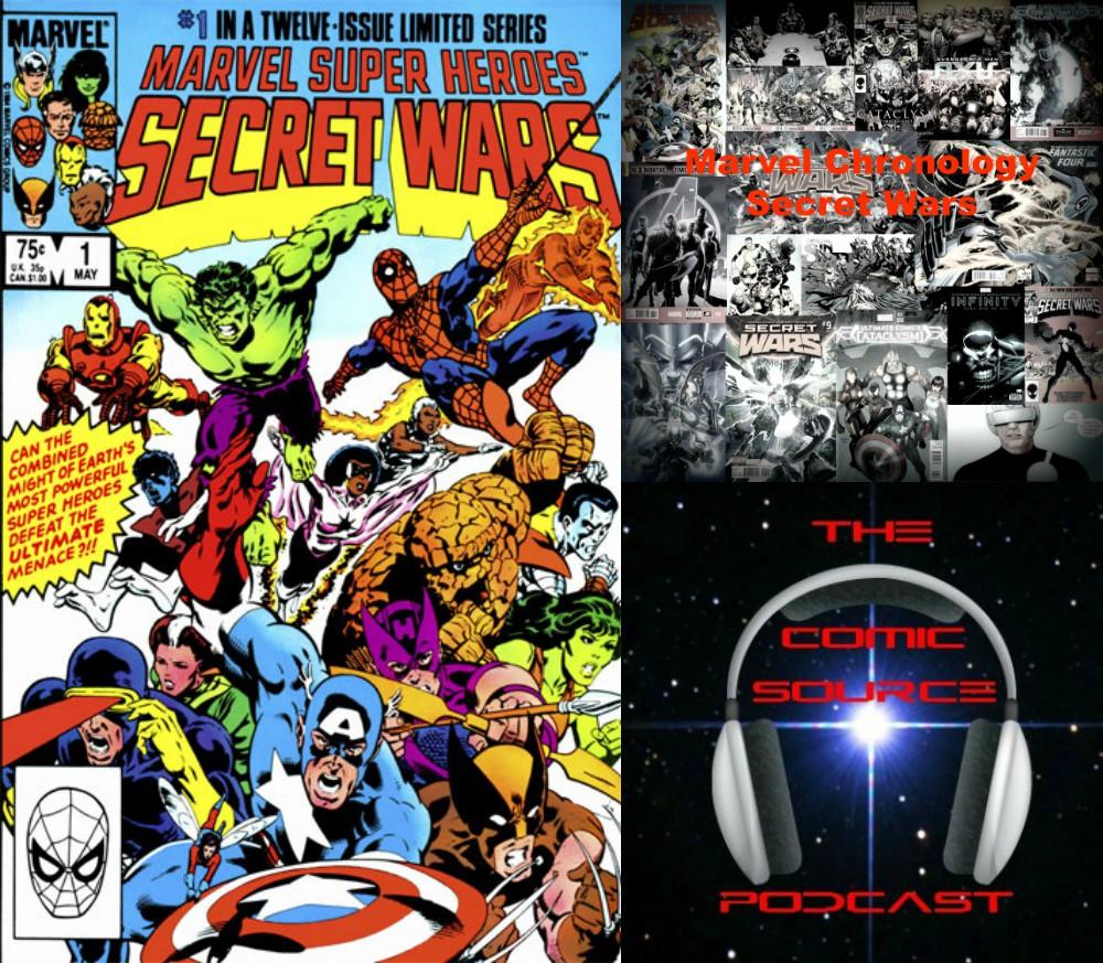 The Comic Source Podcast Episode 237 – Marvel Chronology Project – Secret Wars #1