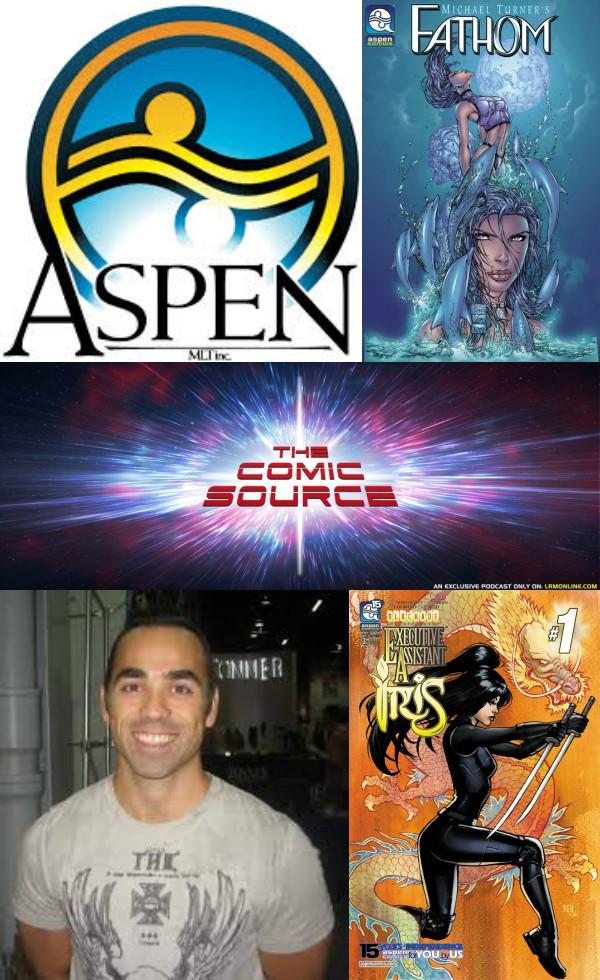 The Comic Source Podcast Episode 273 – Aspen Comics Announcement with Frank Mastromauro