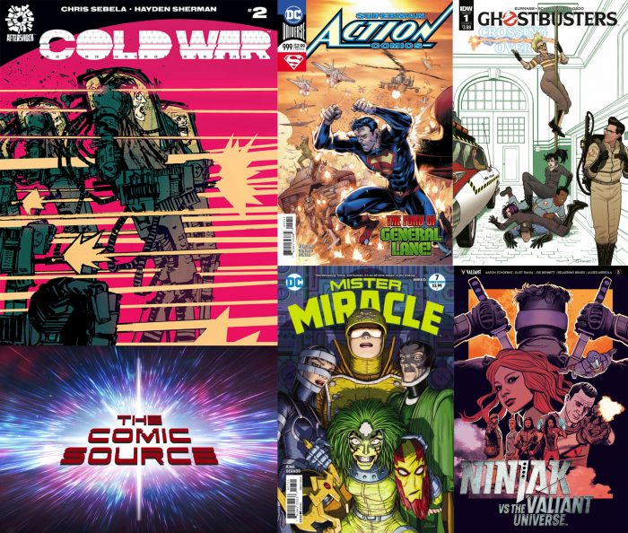The Comic Source Podcast Episode 256 – New Comic Wednesday March 14, 2018