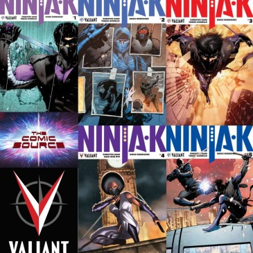 The Comic Source Podcast Episode 260 – Valiant Sunday Spotlight on Ninja-K