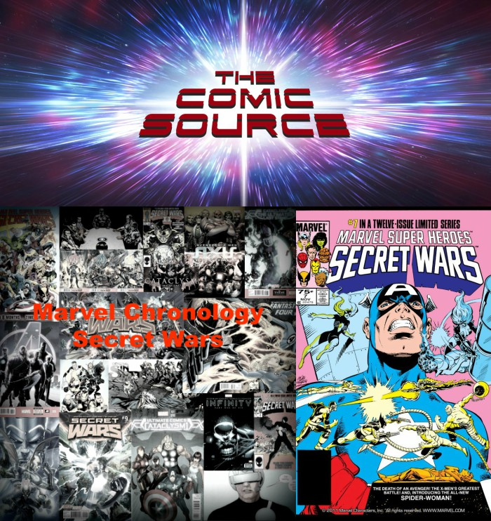 The Comic Source Podcast Episode 274 – Marvel Chronology – Secret Wars #7