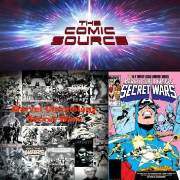 The Comic Source Podcast Episode 274 – Marvel Chronology – Secret Wars #7