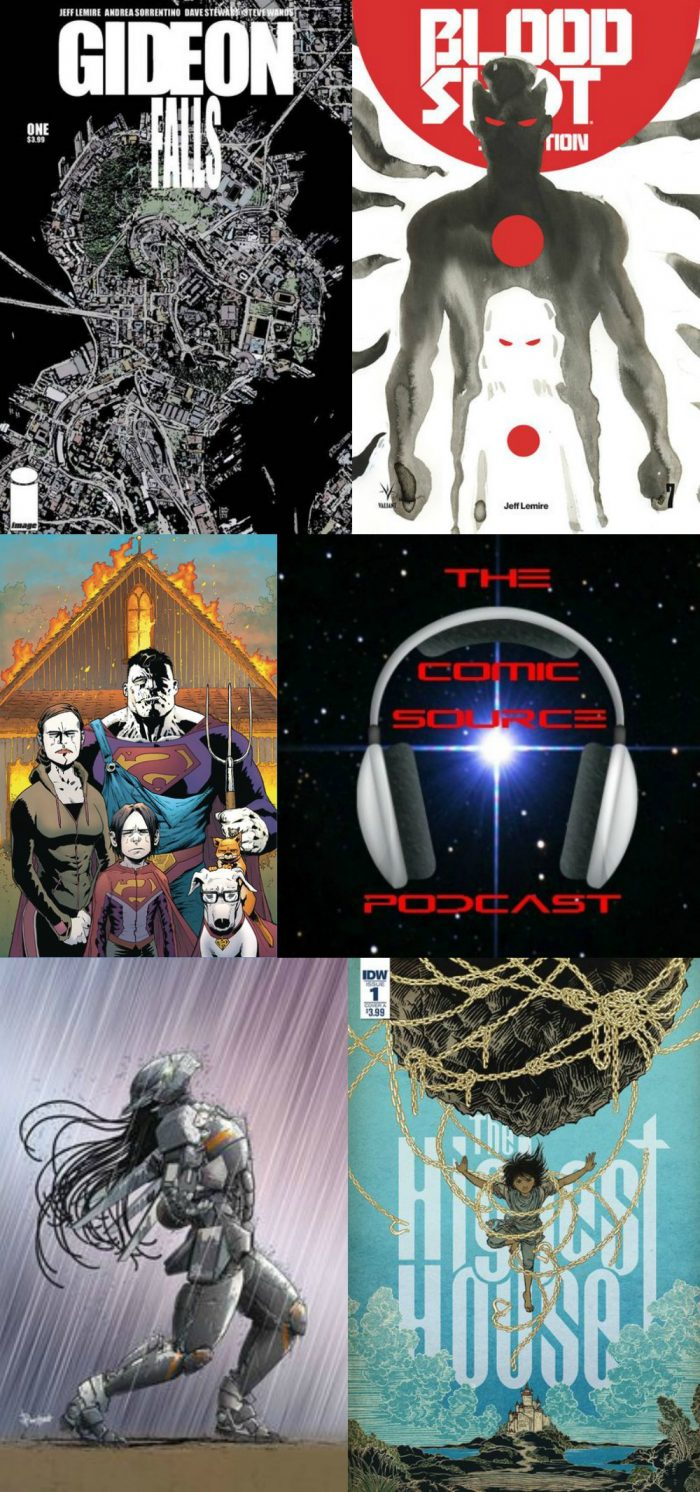 The Comic Source Podcast Episode 249 – New Comics Wednesday March 7, 2018