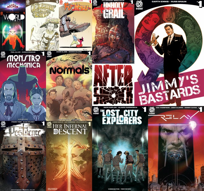 The Comic Source Podcast Episode 276 – AfterShock Monday – Series Rundown Part 3