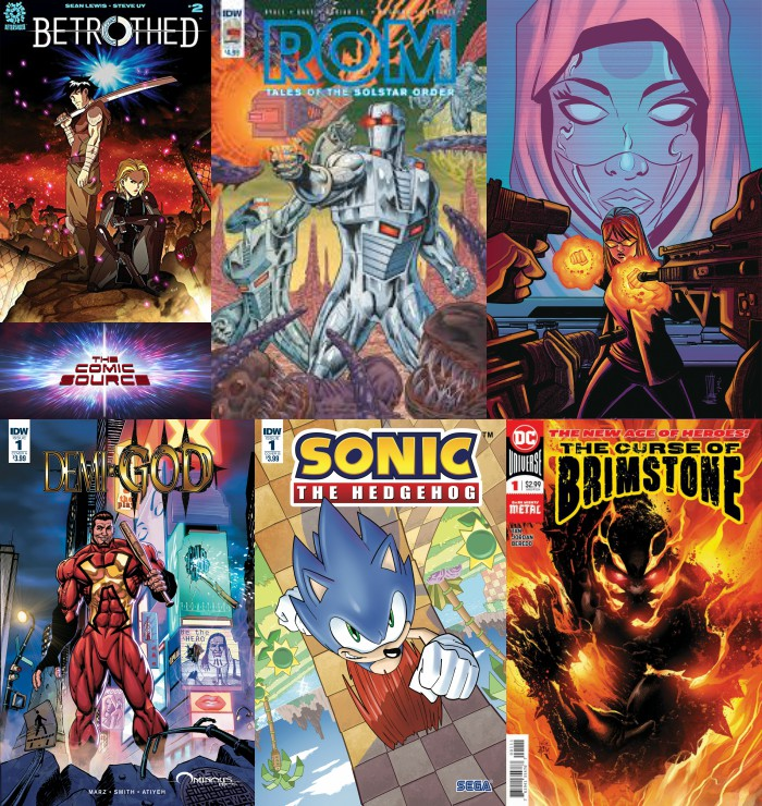 The Comic Source Podcast Episode 278 – New Comics Wednesday April 4th , 2018