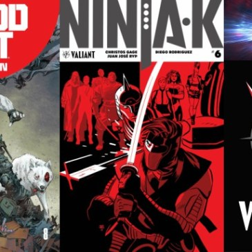 The Comic Source Podcast Episode 281 – Valiant Sunday – State of Valiant, Bloodshot Salvation #9 & Ninja-K #6