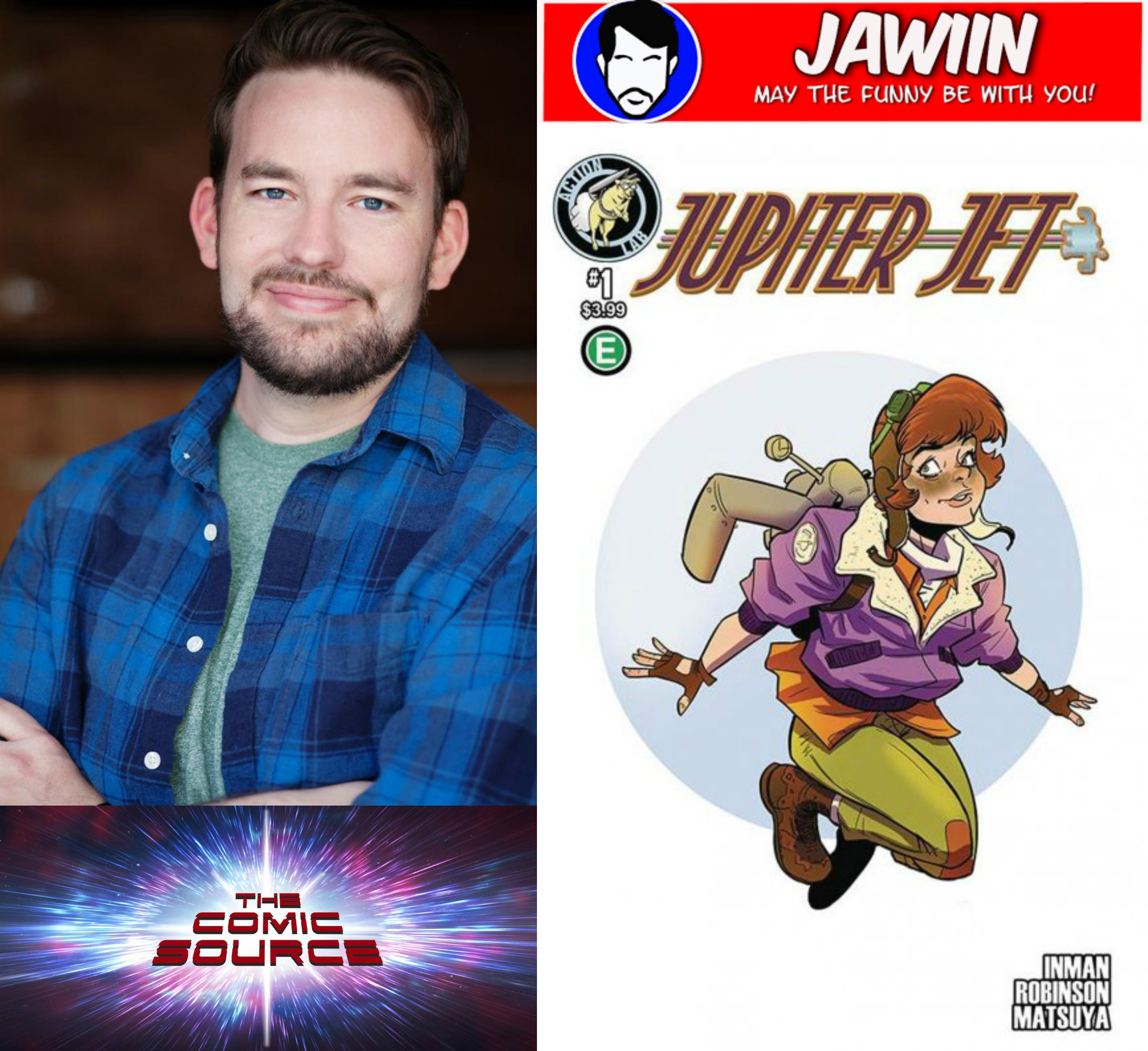 The Comic Source Podcast Episode 296 – Spotlight on Jupiter Jet with Jason Inman