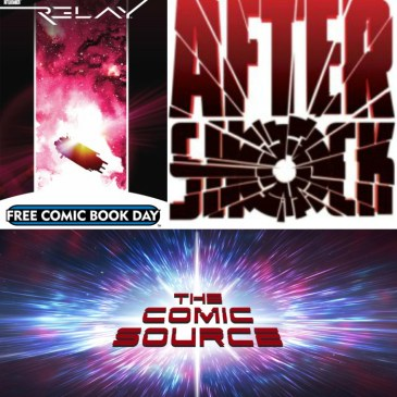 The Comic Source Podcast Episode 302 – AfterShock Monday Relay with Zac Thompson