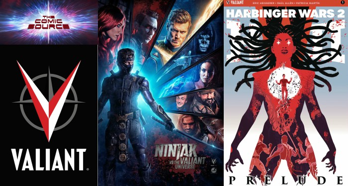 The Comic Source Podcast Episode 301 – Valiant Sunday – Quick Thoughts on Ninjak vs The Valiant Universe & Harbinger Wars II