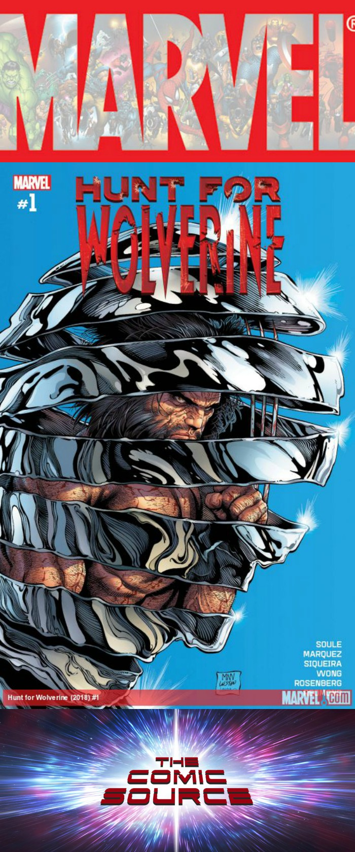 The Comic Source Podcast Episode 303 – Hunt for Wolverine Spotlight