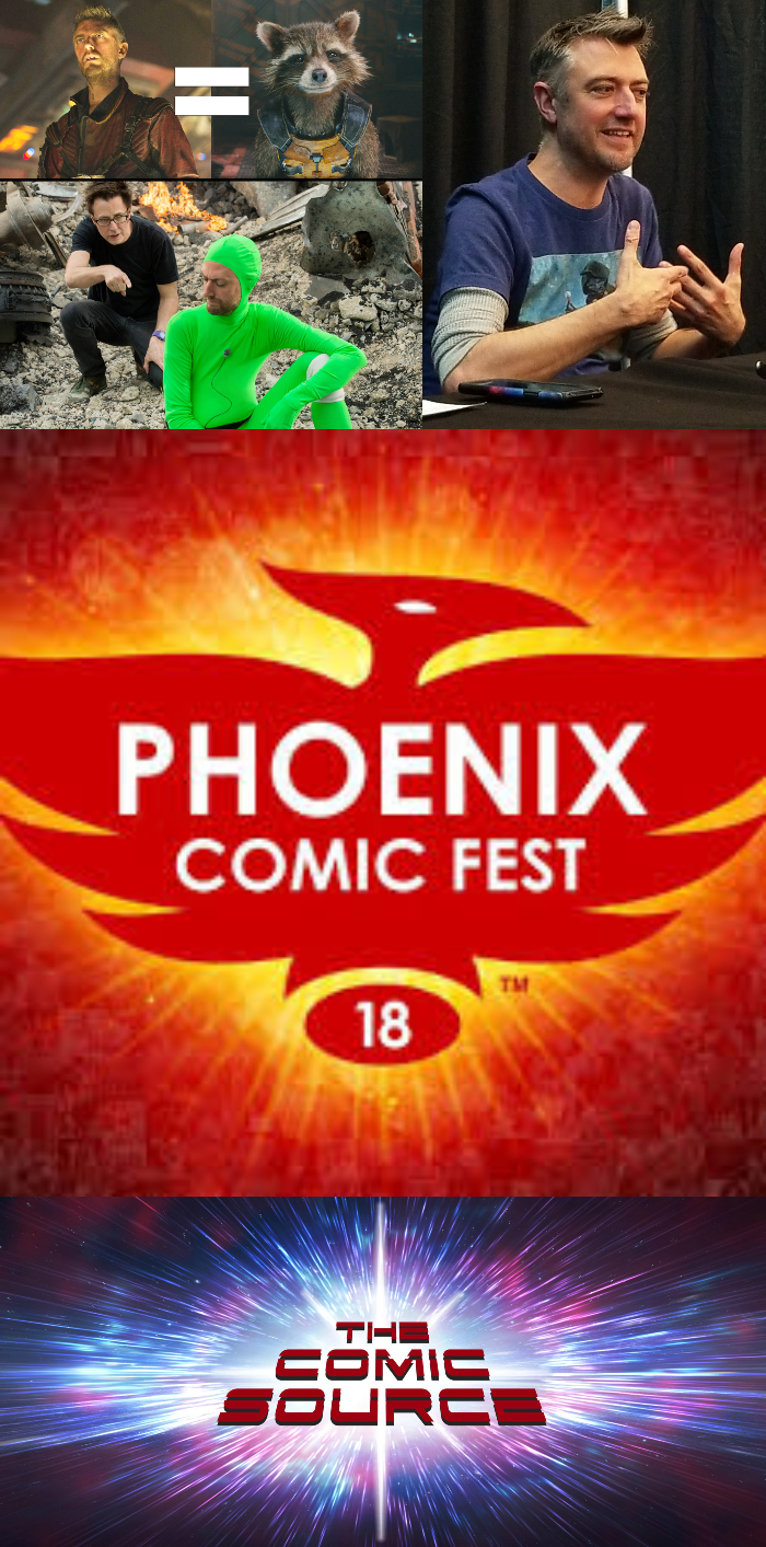 The Comic Source Podcast Episode 337 – Phoenix Files with Sean Gunn