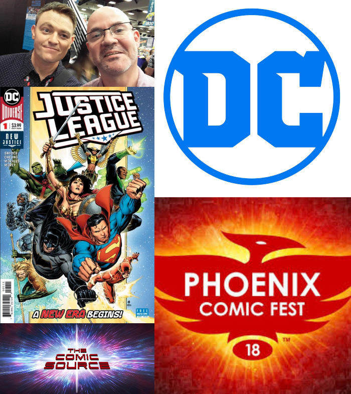 The Comic Source Podcast Episode 343 – Phoenix Files with Scott Snyder