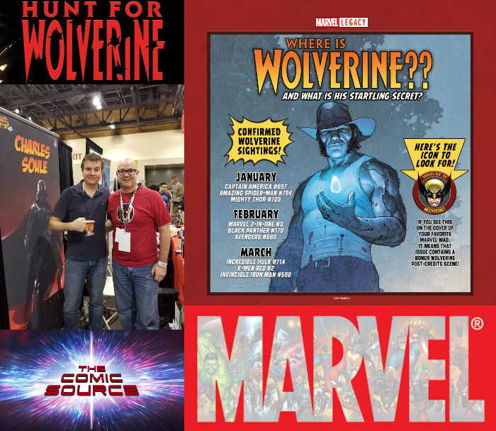 The Comic Source Podcast Episode 348 – Hunt for Wolverine Spotlight: Epilogues and Charles Soule
