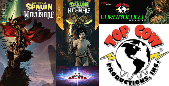 The Comic Source Podcast Episode 352 – Top Cow Thursday; Medieval Spawn Witchblade #'s 1-2