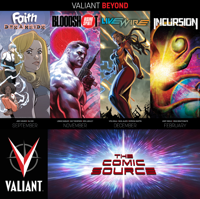 The Comic Source Podcast Episode 356 – Valiant Sunday: Valiant Beyond