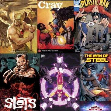 The Comic Source Podcast Episode 361 – New Comic Wednesday June 13, 2018