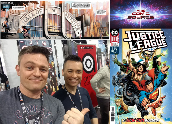 The Comic Source Podcast Episode 364 – Justice League Spotlight Issue #1