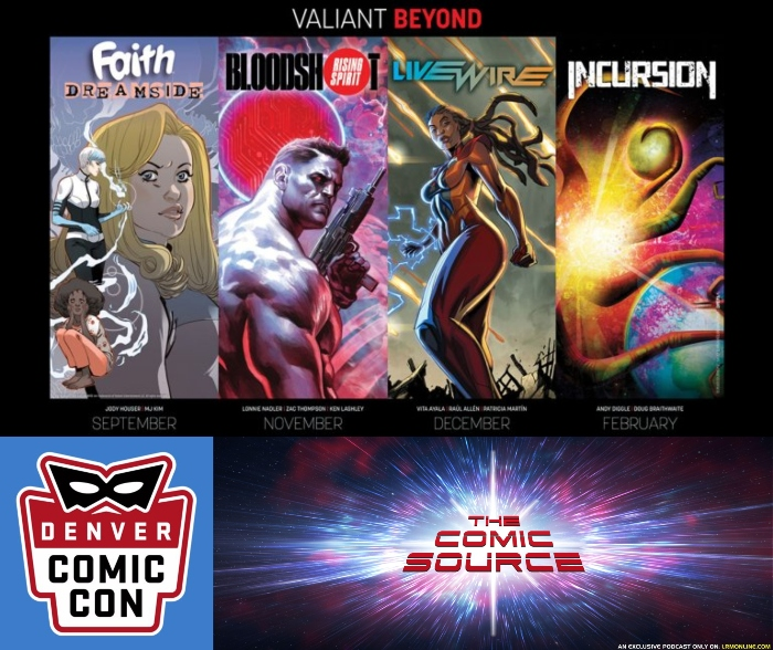 The Comic Source Podcast Episode 366 – Valiant Sunday; Valiant Beyond with Robert Meyers