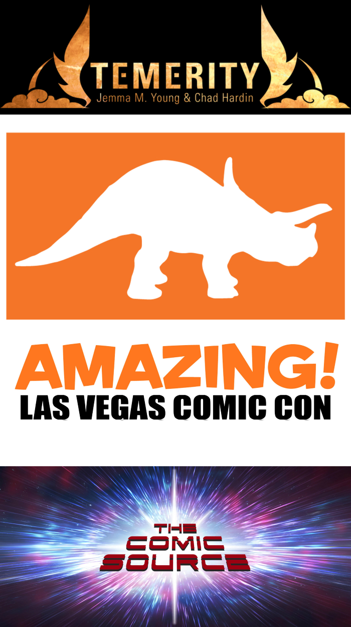 The Comic Source Podcast Episode 393 – Amazing Las Vegas Comic Con – Talking Temerity with Jemma Young