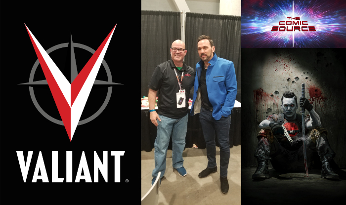 The Comic Source Podcast Episode 395 – Valiant Sunday: An Interview with Jason David Frank & Quick Thoughts on Bloodshot Salvation #11