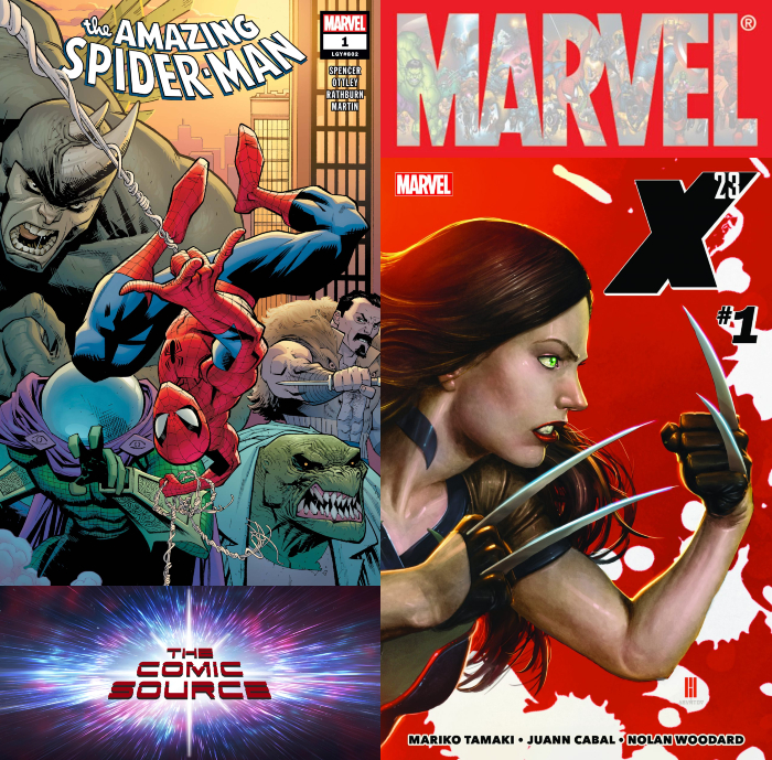 The Comic Source Podcast Episode 409 – Marvel Monday: Amazing Spider-Man #1 & X-23 #1