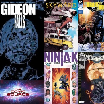 The Comic Source Podcast Episode 412 – New Comic Wednesday July 18, 2018