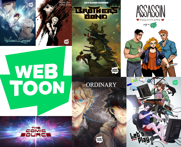 The Comic Source Podcast Episode 413 – Webtoons with Tom Akel