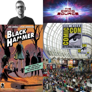 The Comic Source Podcast Episode 428 – San Diego Sound Bytes 2018: Jeff Lemire