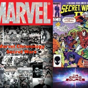The Comic Source Podcast Episode 429 – Marvel Chronology: Secret Wars II #5