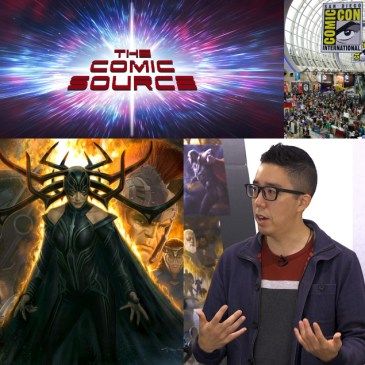 The Comic Source Podcast Episode 435 – San Diego Sound Bytes 2018: Andy Park