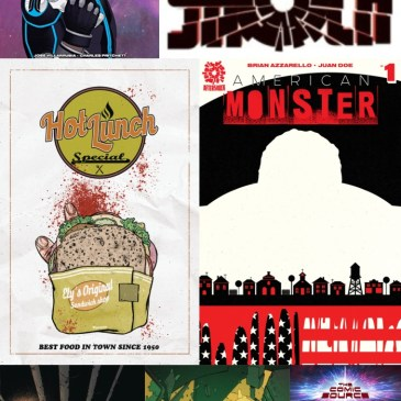 The Comic Source Podcast Episode 449 – AfterShock New Releases for August 8, 2018 Plus a Look at American Monster