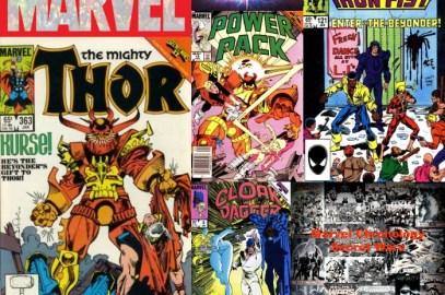 The Comic Source Podcast Episode 465 – Marvel Chronology: Secret Wars II #6 Tie-Ins