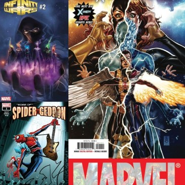 The Comic Source Podcast Episode 469 – Marvel Monday: Extermination #1, Edge of Spidergeddon #1 & Infinty Wars #2