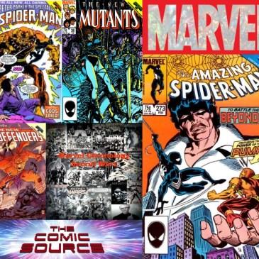 The Comic Source Podcast Episode 483 – Marvel Chronology: Secret Wars II #7 Tie-Ins