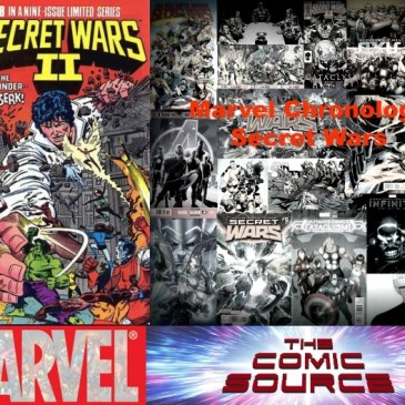The Comic Source Podcast Episode 492 – Marvel Chronology: Secret Wars II #8