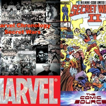 The Comic Source Podcast Episode 513 – Marvel Chronology: Secret Wars II #9