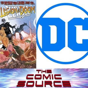 The Comic Source Podcast Episode 521 – Spotlight on Justice League #8