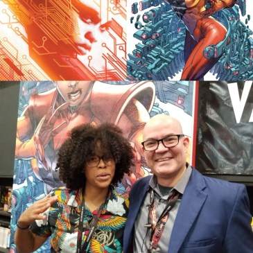The Comic Source Podcast Episode 532 – Valiant Sunday; Talking Livewire with Vita Ay