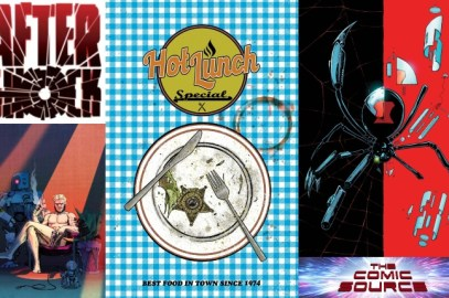 The Comic Source Podcast Episode 546 – AfterShock Monday: Hot Lunch Special Creative Team from NYCC 2018