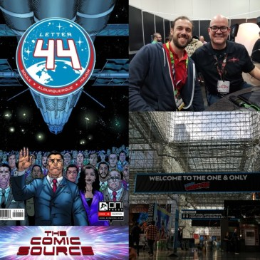 The Comic Source Podcast Episode 562 – A Chat with Alberto Jimenez Alburquerque