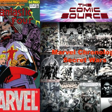 The Comic Source Podcast Episode 567 – Marvel Chronology: Secret Wars III – Fantastic Four Annual #23