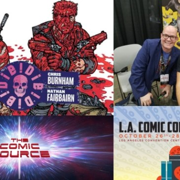 The Comic Source Podcast Episode 576 – A Chat with Chris Burnham at LACC