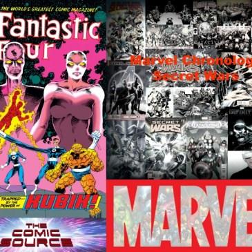 The Comic Source Podcast Episode 577 – Marvel Chronology: Secret Wars III – Fantastic Four 351