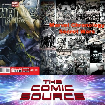 The Comic Source Podcast Episode 587 – Marvel Chronology: Thanos – Thanos Rising #1