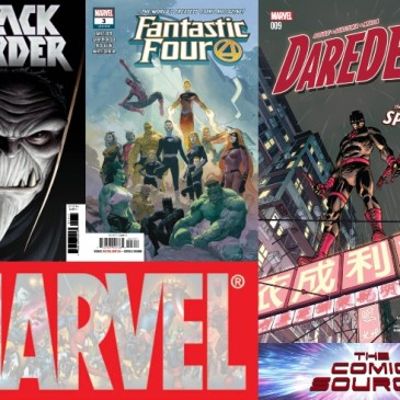 The Comic Source Podcast Episode 601 – Marvel Monday: The Black Order #1, Fantastic Four #3 & Daredevil #9