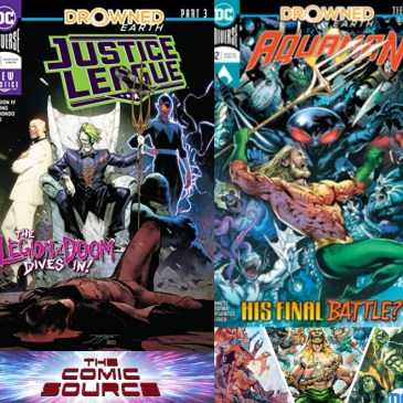 The Comic Source Podcast Episode 614 – Spotlight on Aquaman #42 & Justice League #12
