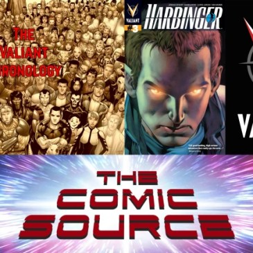 The Comic Source Podcast Episode 616 – Valiant Sunday – Chronology: Harbinger #3