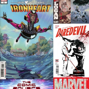 The Comic Source Podcast Episode 619 – Marvel Monday: Dead Man Logan #1, Fantastic Four #4, Iron Heart #1 & Daredevil #11